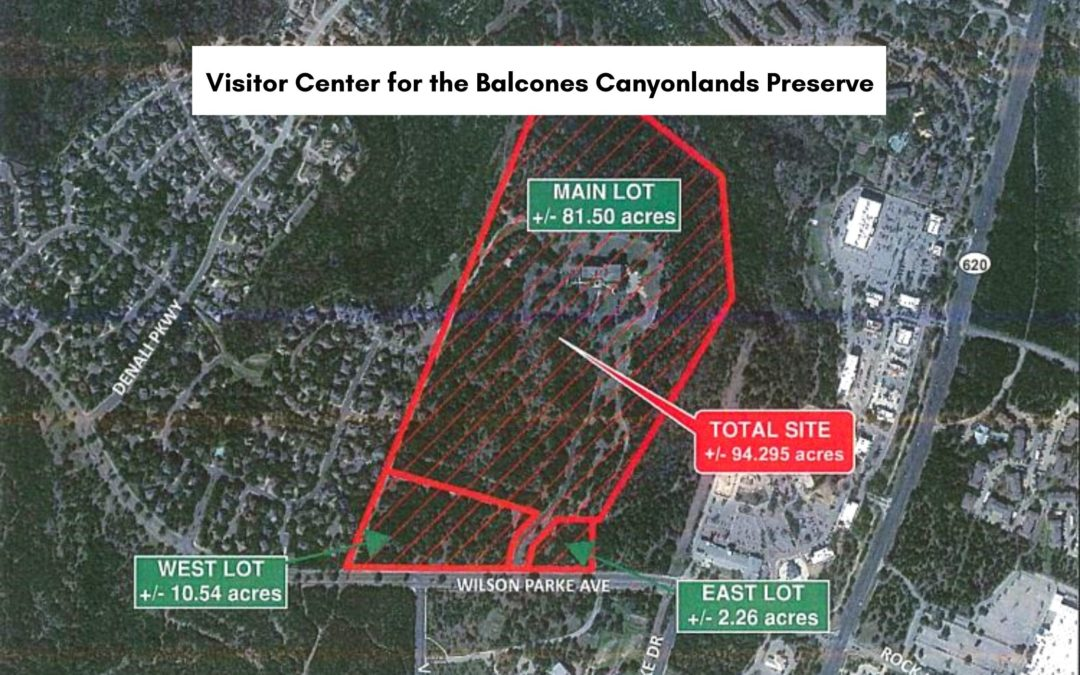 Walkable Nature: New Visitor Center for Balcones Canyonlands Preserve in Four Points
